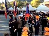 Recueillement à Digne à la mémoire des pompiers disparus