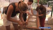 Iles du Frioul : l'hôpital Caroline; un chantier pas comme les autres