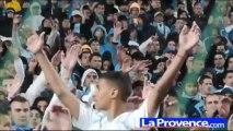 Stade Vélodrome : les supporters en folie
