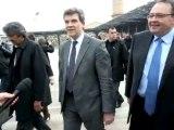 Arnaud Montebourg en visite au MuCEM
