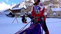 Championnat de France de chiens de traîneau dans les Alpes
