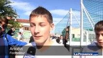 """Zizou à Marseille : toujours un """"dieu de foot"""" pour les enfants"""