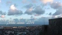 Bonne année 2014 de Cherbourg
