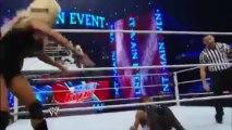 WWE: Main Event  01/01/2014 - The Funkadactyls vs. Alicia Fox & Rosa Mendes