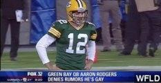 Packers QB Aaron Rodgers Denies Gay Rumors