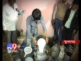 Junagadh - Three arrested for making duplicate milk, pt 1 - Tv9 Gujarat
