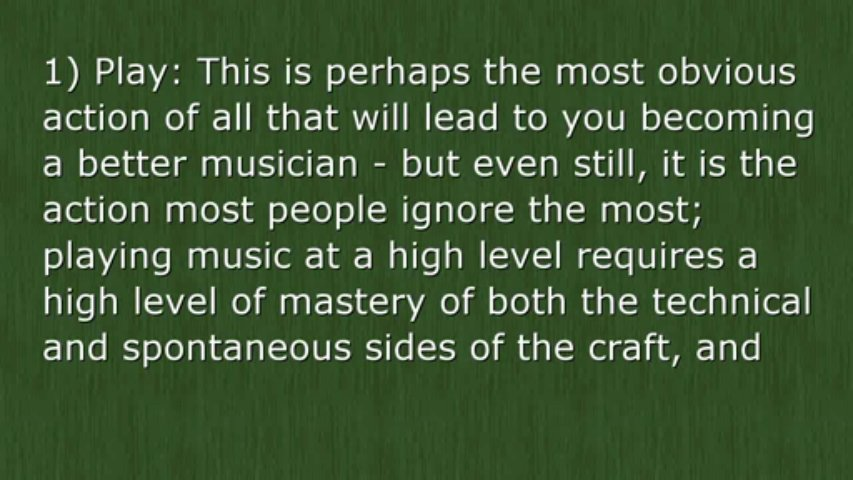 Becoming A Better Musician Every Single Day