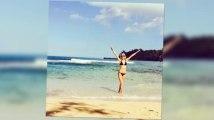 Rosie Huntington-Whiteley Shows Off Her Bikini Body