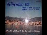 •LE 20 CANZONI DI SANREMO 1958  LP  ODEON EMILIO PERICOLI FERNANDA FURLANI  Part I