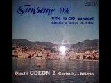 •LE 20 CANZONI DI SANREMO 1958  LP  ODEON EMILIO PERICOLI FERNANDA FURLANI  Part II