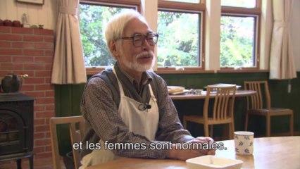 """Rencontre avec Hayao Miyazaki - La naisssance du projet du film """"Le vent se lève"""""""