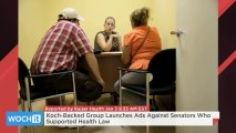Koch-Backed Group Launches Ads Against Senators Who Supported Health Law