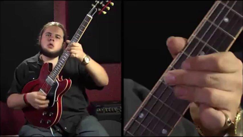 Blues Guitar Lesson – Funky Blues Rhythms with Jonathon Boogie Long – Blues Guitar Chords