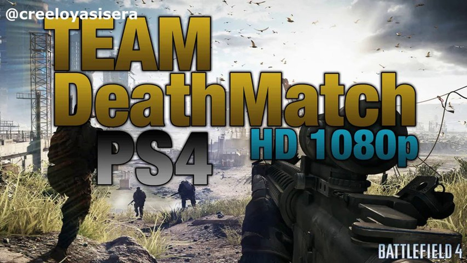 Battlefield 4 PS4 Team DeathMatch PlayStation 4 Gameplay