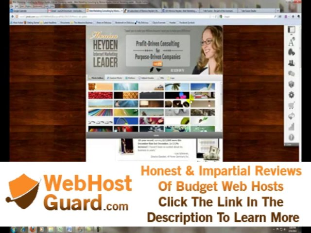 FREE Business Website Template (includes free website hosting and domain)