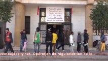 Oujda/Maroc : Opération exceptionnelle de régularisation de la situation des étrangers  en situation de séjour irrégulier au Royaume du Maroc