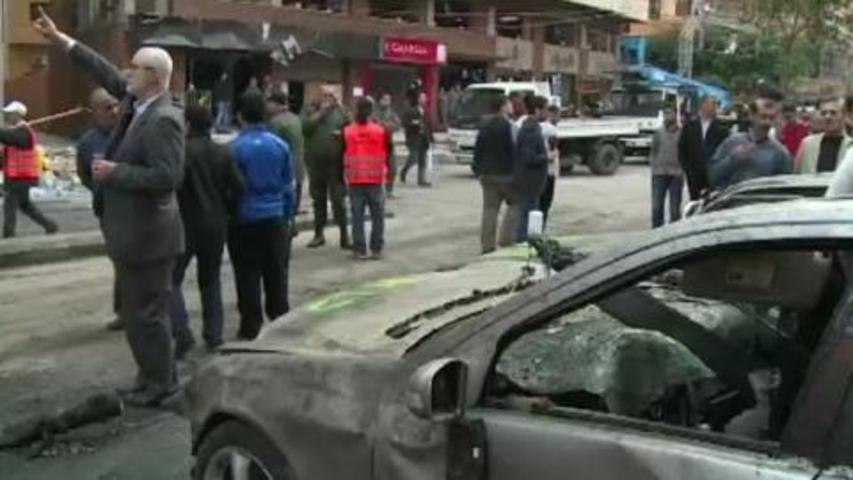 Lebanese react in wake of deadly explosion
