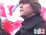Alain Soral et E&R manifestent contre le sionisme (2009)