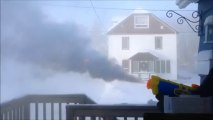 Shooting Boiling Water From Water Gun In Extreme Canadian Cold Has Amazing Results