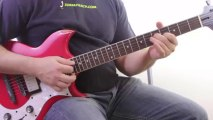 Guitar Chords Lesson - Creating Cool Guitar Sounds by Moving Chord Tones