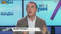 Les mentions légales dans la pub: Franck Tapiro et Valéry Pothain, dans A vos marques - 05/01 1/3