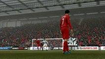 FIFA 13 - Tir précis sur coup franc 2 - Soluces