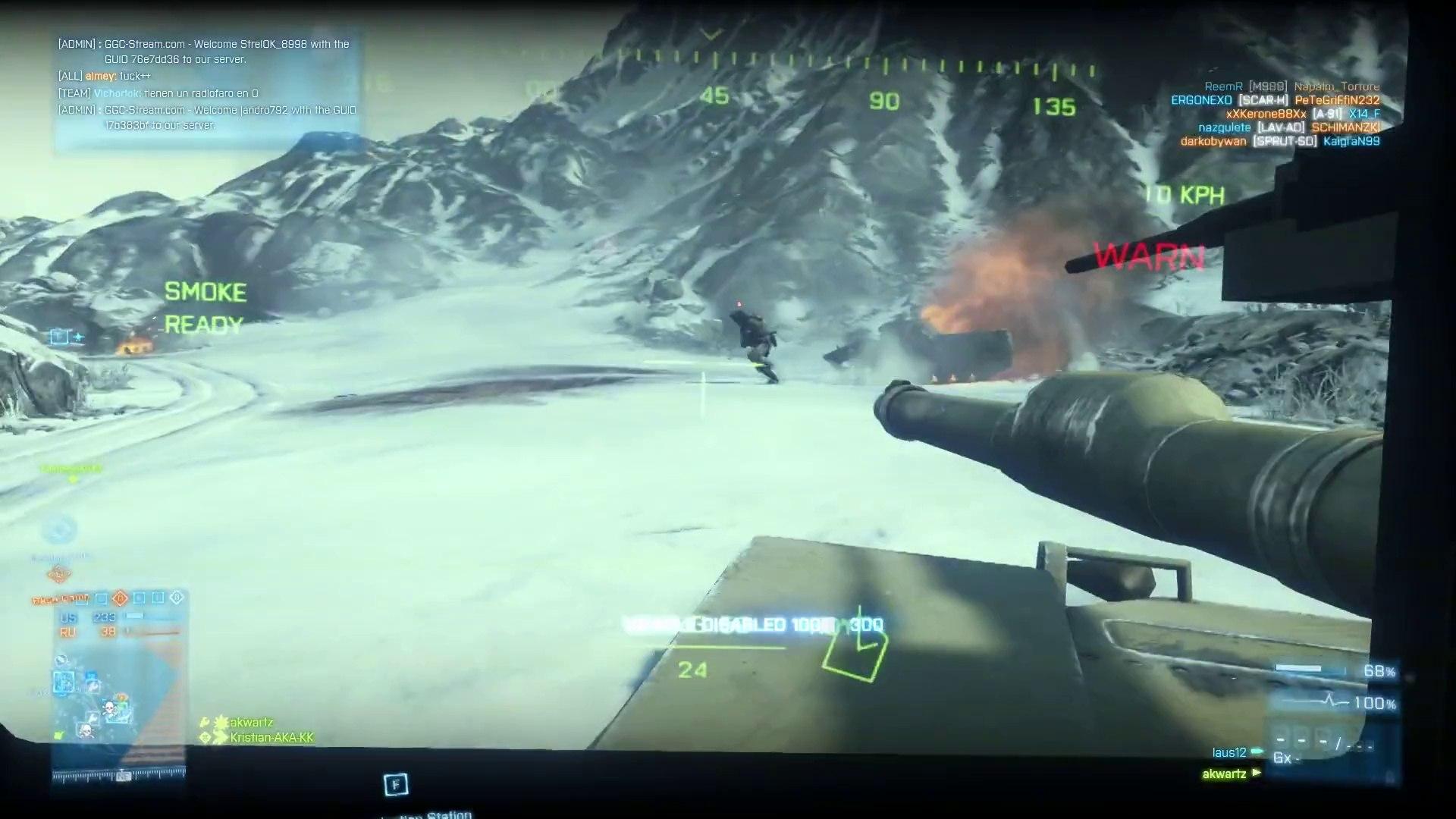 Battlefield 3 : Armored Kill - Où tu vas Bob ?