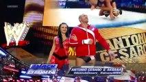 Smackdown 12/07/03 Layla and Great Khali vs Antonio Cesaro and Aksana