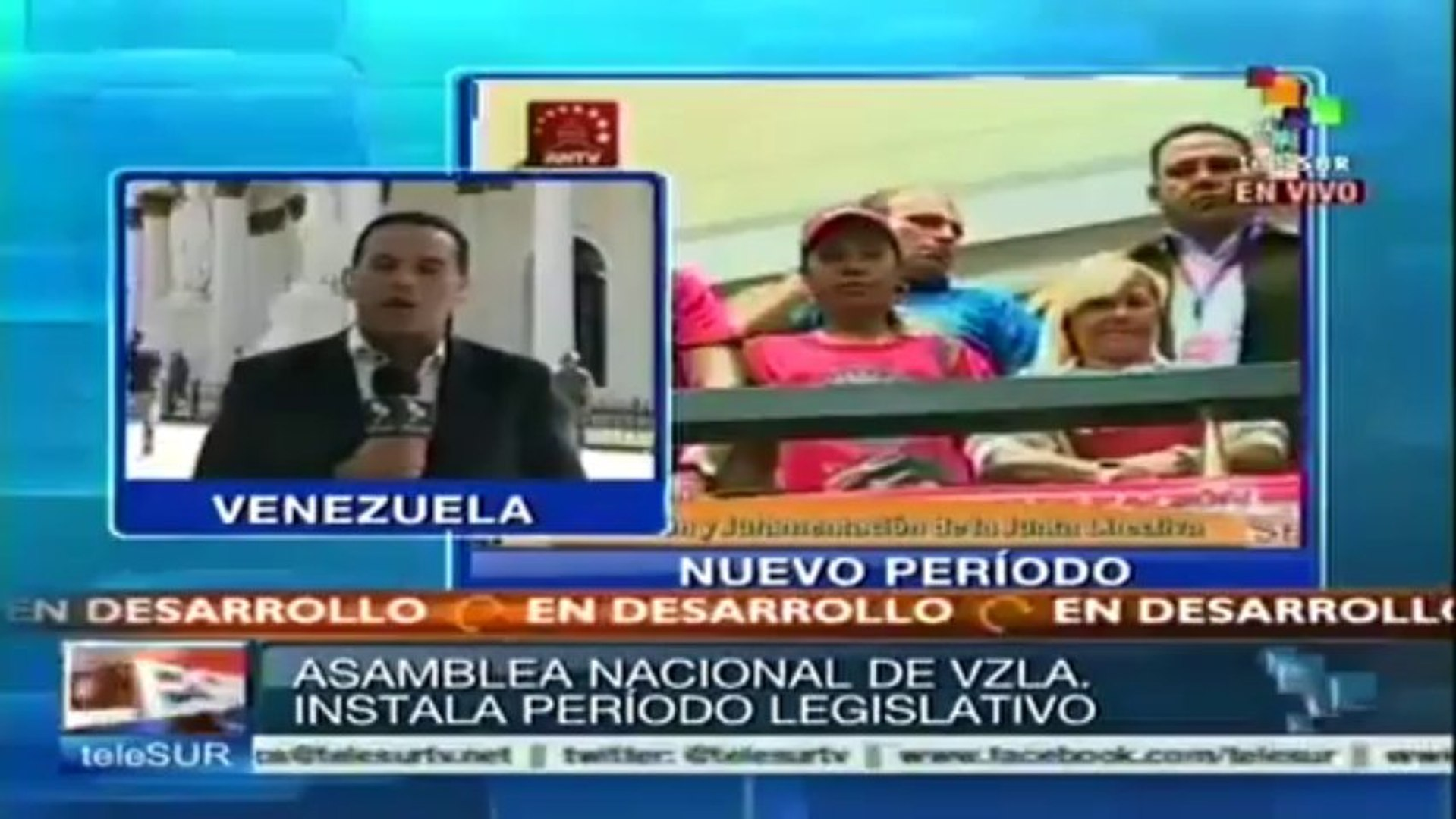Comienza ciclo de sesiones 2014 de la AN venezolana