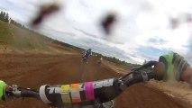 Finningley Motorcross Action   Dirt Bike Crash