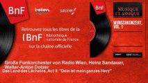 Große Funkorchester von Radio Wien, Heinz Sandauer, Walter-Anton Dotzer - Das Land des Lächelns