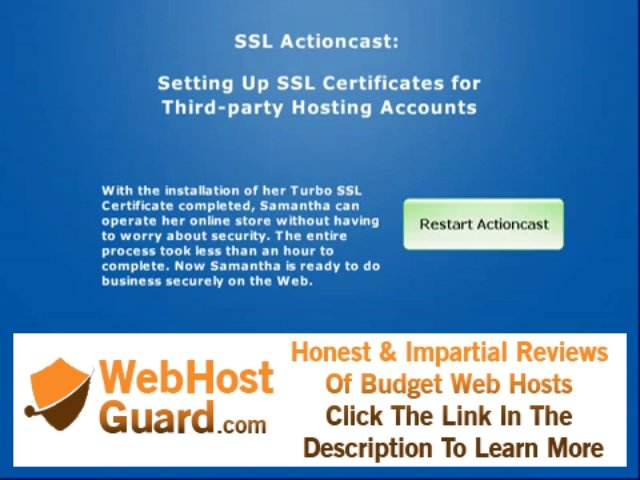 Setting Up SSL Certificates for Third-party Hosting Accounts