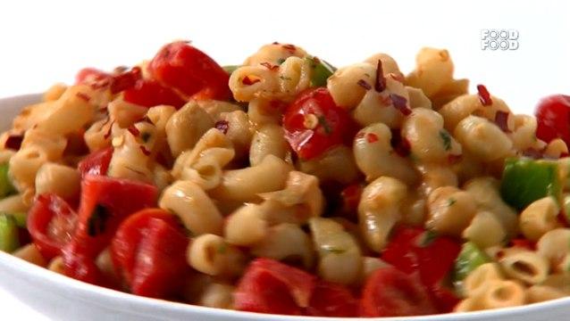 How To Make Macaroni With Chickpeas - Sanjeev Kapoor's Kitchen