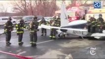 Atterrissage d'urgence d'un avion sur une autoroute du Bronx
