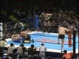 Yuji Nagata & Takashi Iizuka vs. Toshiaki Kawada & Masanobu Fuchi - NJPW 12/14/00