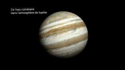 Jupiter et la collision avec la comète Shoemaker Levy 9