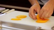 Tailler une mangue en julienne