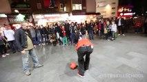 STREET FOOT - Gros talent! Tricks de dingue!