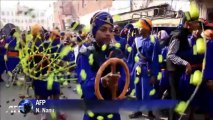 Inde: procession à Amritsar pour honorer un gourou sikh