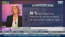 La Tendance du moment: les soldes, un enjeu économique pour les commerçants, dans Paris est à vous - 07/01