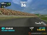 F1 Racing Championship - Suzuka vu d'une McLaren Mercedes