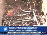 Docentes y vecinos de la escuela Julia Rodríguez Viña de Puerto Ordaz protestaron contra robos