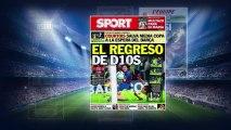 Le symbolique retour de Leo Messi, les trois pistes de Naples pour oublier l'échec Gonalons