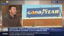 Le Soir BFM: Goodyear : les cadres libérés, l'usine toujours occupée - 07/01 1/4