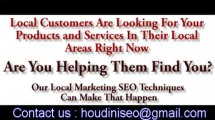 Local SEO services for businesses. Local Internet marketing and advertising for small business that includes local SEO