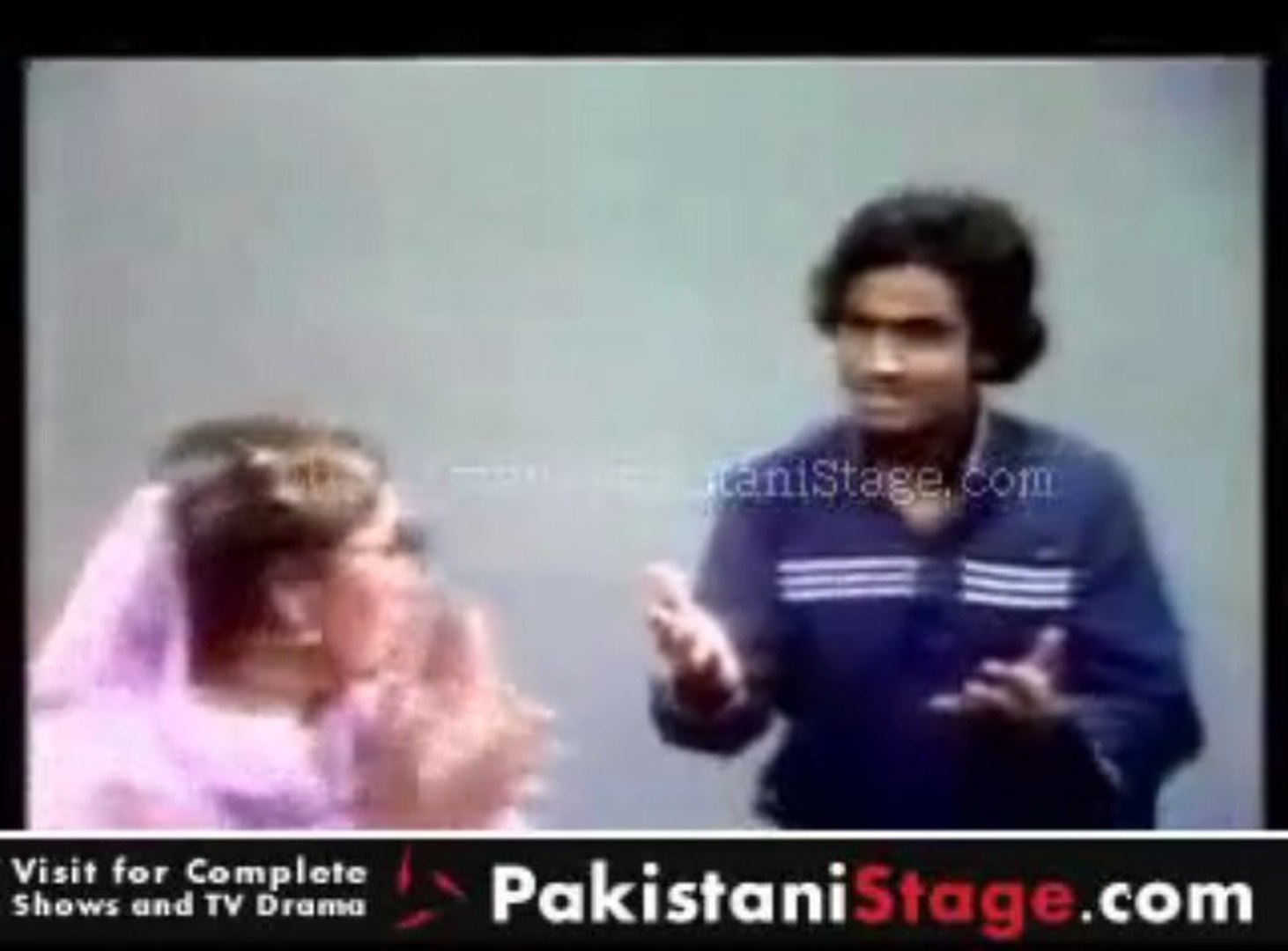 18 Years Old Umer Sharif First TV Appearance Very Funny