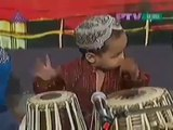 Amazing 2 year Old Pakistani Kid Playing  Drum Tabla - Very Talented
