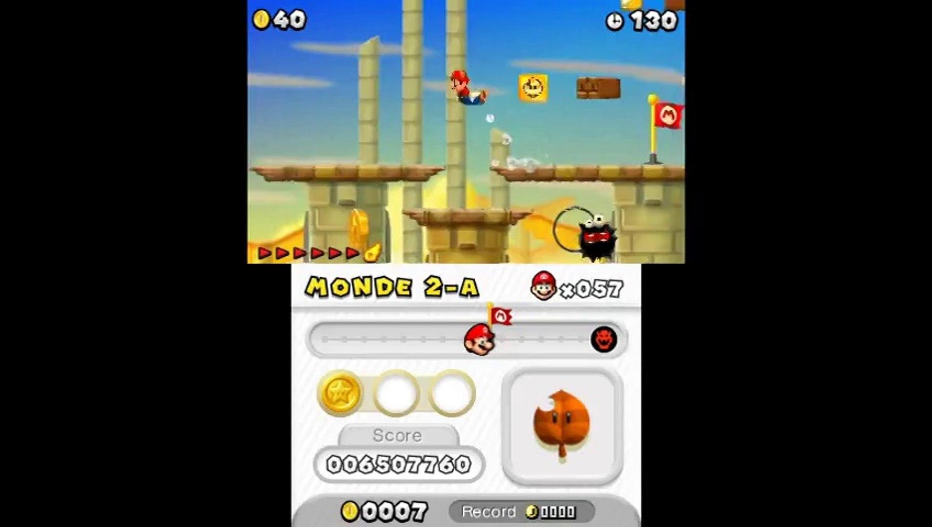 New Super Mario Bros 2 Monde 2 A Pièce 2