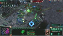 StarCraft II : Wings of Liberty - MLG Anaheim - Ryung vs Violet - Match 2