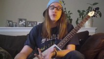 Jazz-Fusion Guitar Lesson - Tritone Subtitution Guitar Lick - Outside Playing